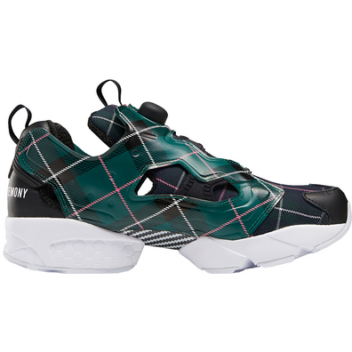 Reebok Instapump Fury Opening Ceremony Plaid Green productafbeelding