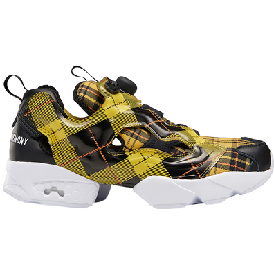 Reebok Instapump Fury Opening Ceremony Plaid Yellow productafbeelding