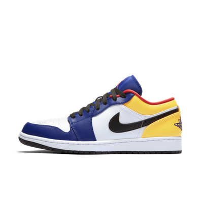 Air Jordan 1 Low 'Yellow/Blue' productafbeelding
