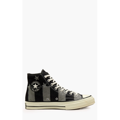 """Converse All Star Chuck 70 Hi """"Stars and Stripes"""" Black/White productafbeelding"""