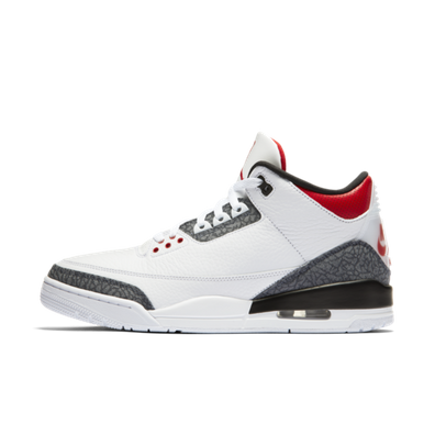 Air Jordan 3 SE Denim 'Fire Red' productafbeelding