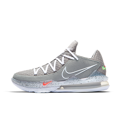 Nike LeBron 17 Low Particle Grey productafbeelding