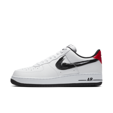 Nike Air Force 1 'Brushstroke Pack' - Black productafbeelding