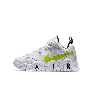 Nike Air Barrage Low White Black Volt (GS) productafbeelding