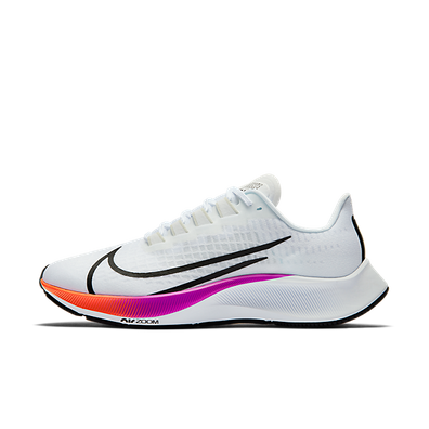 Nike Air Zoom Pegasus 37 White Multi-Color (W) productafbeelding