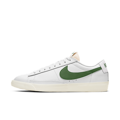 Nike Blazer Low Leather 'Forest Green' productafbeelding