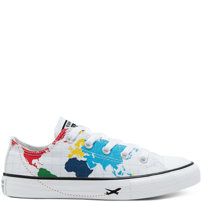 Big Kids Geography Class Chuck Taylor All Star Low Top productafbeelding