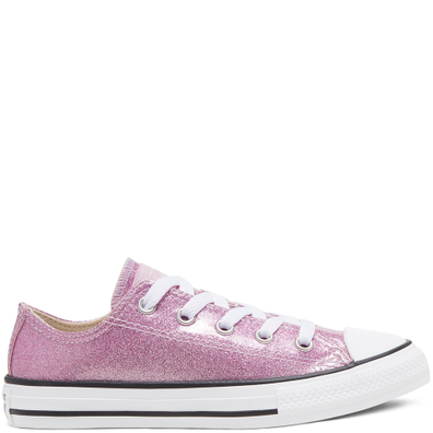Big Kids Coated Glitter Chuck Taylor All Star Low Top productafbeelding
