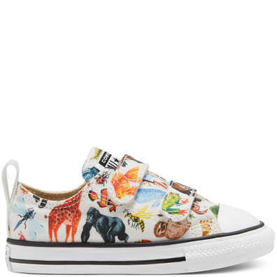 Toddler Science Class Easy-On Chuck Taylor All Star Low Top productafbeelding