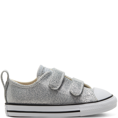 Toddler Coated Glitter Easy-On Chuck Taylor All Star Low Top productafbeelding