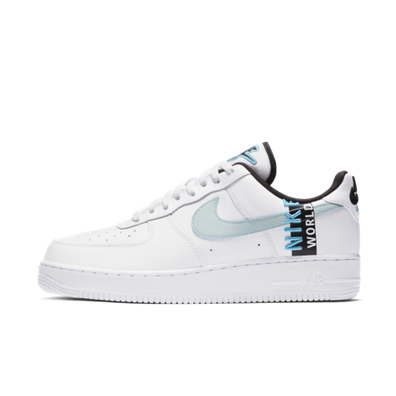Nike Air Force 1 Worldwide Pack - White & Blue productafbeelding