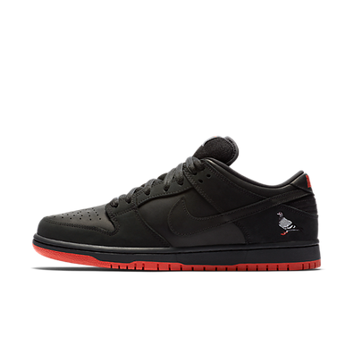 "Nike SB Dunk Low ""Black-Pigeon"" productafbeelding"