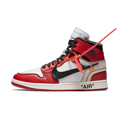 The Then Air Jordan I 'Off White' productafbeelding