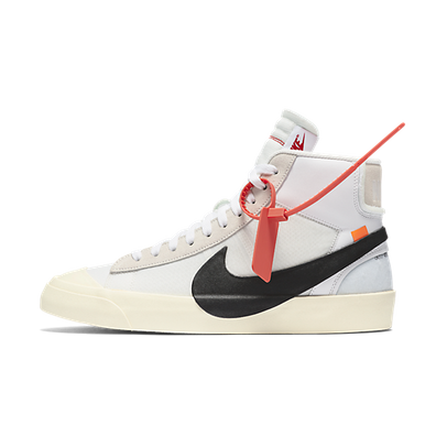 Nike The Ten SB Blazer Mid 'Off White' productafbeelding