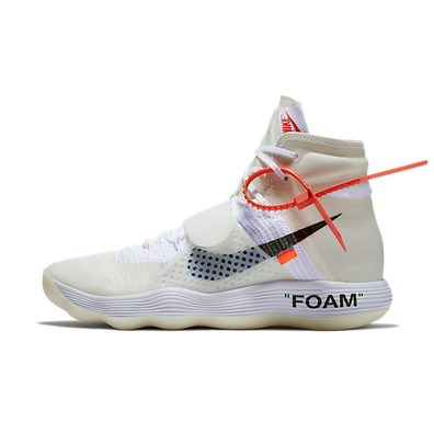 Nike The Ten React Hyperdunk 'Off White' productafbeelding