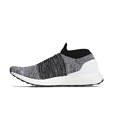 adidas Ultra Boost Laceless Black White productafbeelding