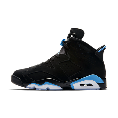 "Air Jordan VI ""Black/University Blue"" productafbeelding"