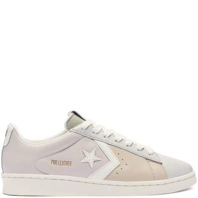 Unisex Neutral Tones Pro Leather Low Top productafbeelding