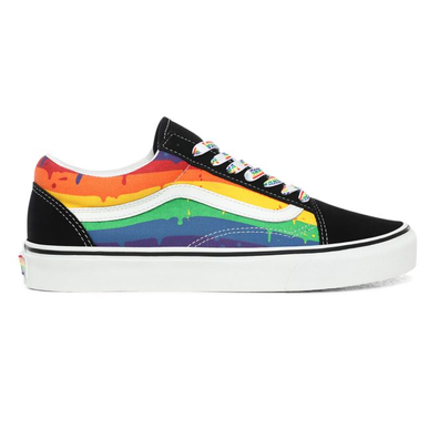 VANS Rainbow Drip Old Skool  productafbeelding