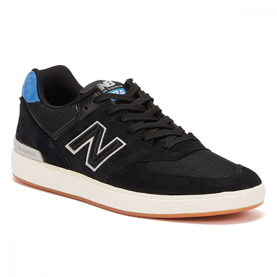 New Balance AM574 Mens Black / Blue Trainers productafbeelding