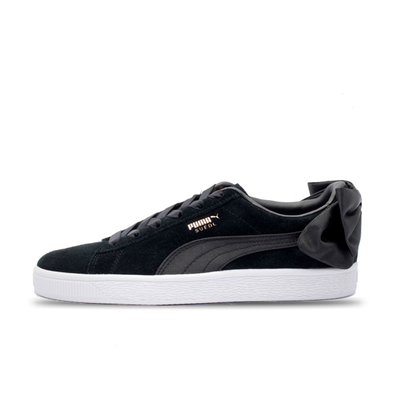 Puma WMNS suede bow 'Black/White' productafbeelding