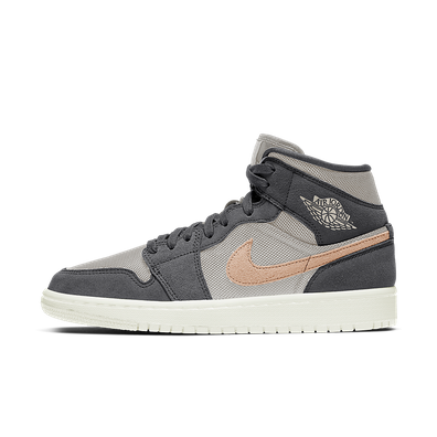 Air Jordan 1 Mid Wmns 'Smoke Grey' productafbeelding