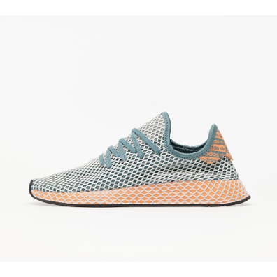 adidas Deerupt Runner Raw Green/ Grey One/ Amber Tint productafbeelding