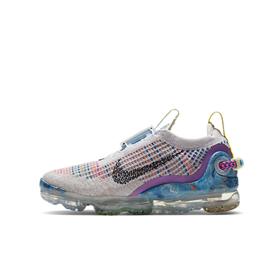 Nike Air VaporMax 2020 Flyknit Pure Platinum Multi-Color (GS) productafbeelding