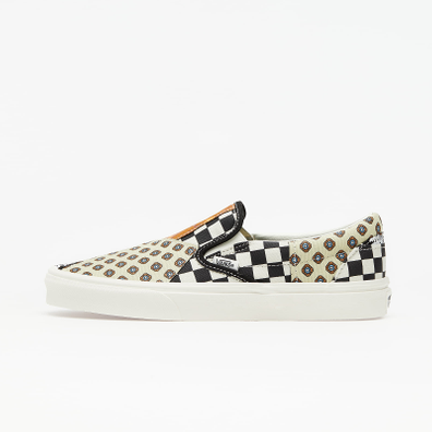 Vans Classic Slip-On (Tiger Patchwork) Black/ True White productafbeelding