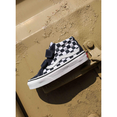 Vans Sk8-mid Reissue checkerboard PS productafbeelding