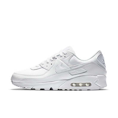 Nike Air Max 90 Leather Triple White (2020) productafbeelding