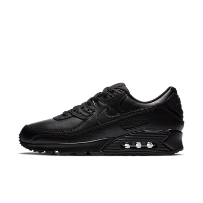 Nike Air Max 90 Leather Triple Black (2020) productafbeelding
