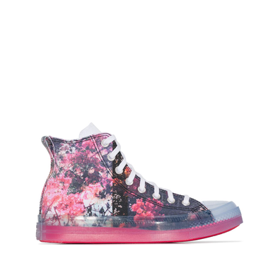 Converse X Shaniqwa Jarvis pink Chuck 70 floral high top productafbeelding