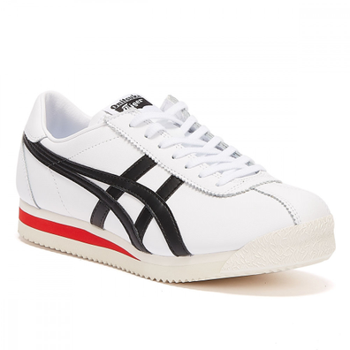 Onitsuka Tiger Corsair Mens White / Black Trainers productafbeelding
