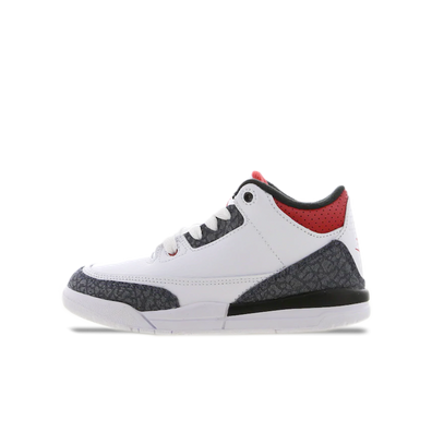 Air Jordan 3 SE PS Denim 'Fire Red' productafbeelding