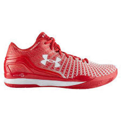 Under Armour BGS Clutchfit Drive 3 Low  Rood productafbeelding