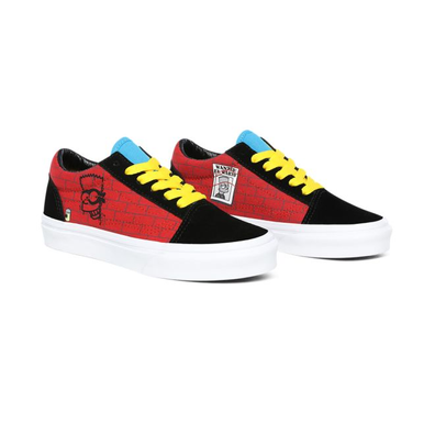 Vans Old Skool The Simpsons El Barto Velcro productafbeelding