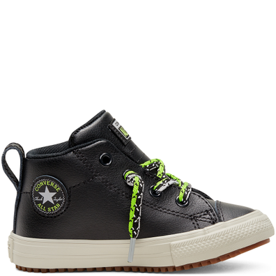 Double Lace Suede Chuck Taylor All Star Street Boot Mid voor peuters productafbeelding