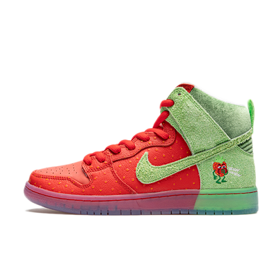 Nike SB Dunk High Pro QS 'Strawberry Cough' productafbeelding