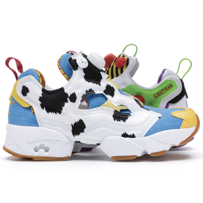 Reebok Instapump Fury Bait x Toy Story Woody and Buzz productafbeelding