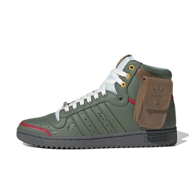 Star Wars X adidas Top Ten Hi 'Boba Fett' productafbeelding