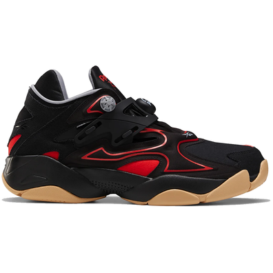 Reebok Pump Court Black Red Gum productafbeelding