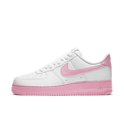Nike Air Force 1 Low White Pink Foam productafbeelding