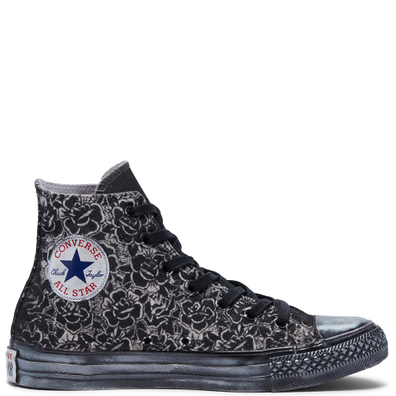 Glitter Floral Chuck Taylor All Star High Top productafbeelding
