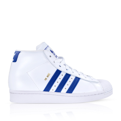 Adidas Pro Model Cloud White/Royal Blue GS productafbeelding