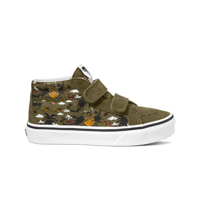VANS Dineapple Floral Sk8-mid Reissue V  productafbeelding