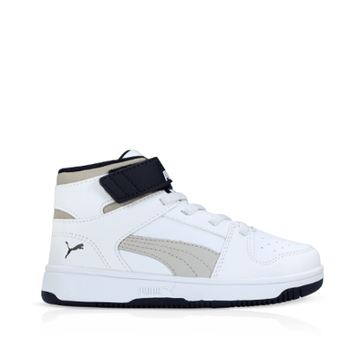 Puma Rebound LayUp White/Gray PS productafbeelding