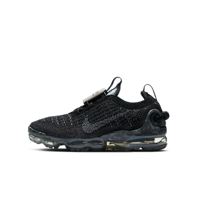 Nike Air VaporMax 2020 Flyknit Black Dark Grey (GS) productafbeelding
