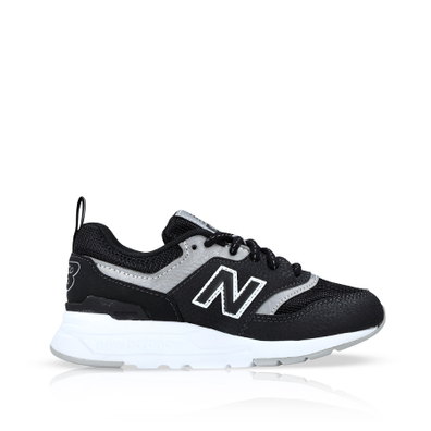 New Balance 997 Black/Silver PS productafbeelding