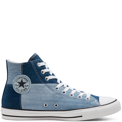 Beyond Retro Denim Chuck Taylor All Star High Top productafbeelding